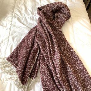 American Eagle Maroon Blanket Scarf - (NWOT)